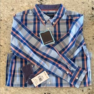 NWT plaid Easter shirt